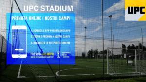 Nuova modalità di prenotazione del campetto da calcio